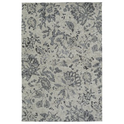 Gannaway Gray Area Rug Rug Size: Rectangle 8 x 10