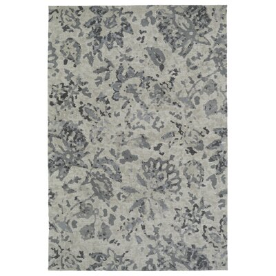 Gannaway Gray Area Rug Rug Size: 8 x 10