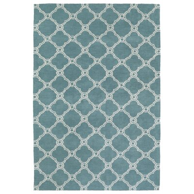 Gannaway Turquoise Area Rug Rug Size: Rectangle 5 x 7