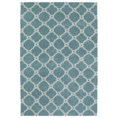 Gannaway Turquoise Area Rug Rug Size: 9 x 12