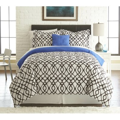 Garretson 6 and 8 Piece Comforter Set Size: Queen