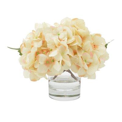 Hydrangea in Water Floral Arrangement