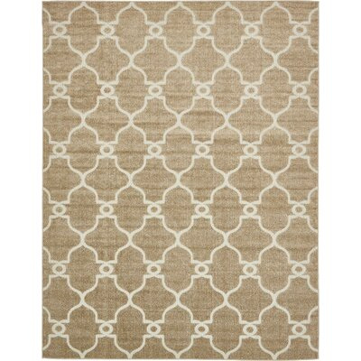 Garrity Brown Indoor/Outdoor Area Rug Rug Size: 9 x 12