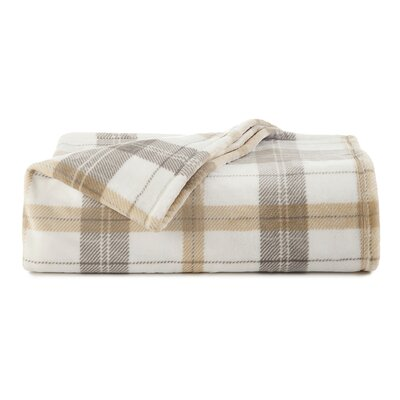 Roderick Plaid Blanket Size: King
