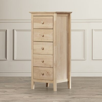Coppedge 5 Drawer Lingerie Chest