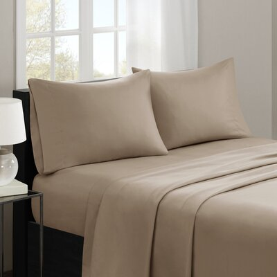 Gearheart 3M Microcell Sheet Set Size: Queen, Color: Khaki