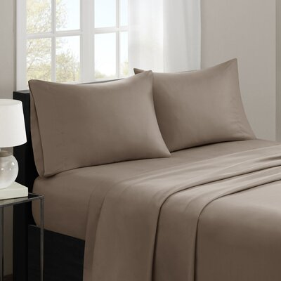 Gearheart 3M Microcell Sheet Set Size: Queen, Color: Brown