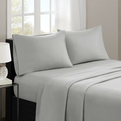 Gearheart 3M Microcell Sheet Set Size: California King, Color: Gray