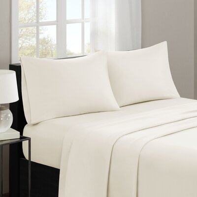 Gearheart 3M Microcell Sheet Set Size: Full, Color: Ivory