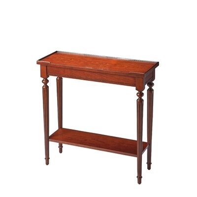 Tipton Console Table Finish: Plantation Cherry