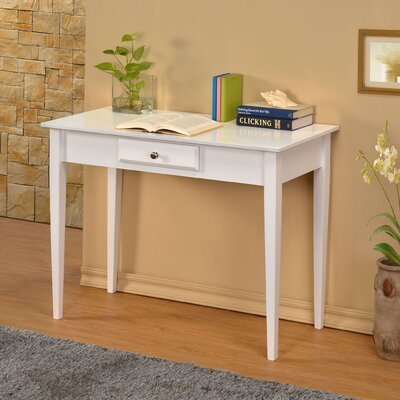 Miles City Writing Desk Finish: White