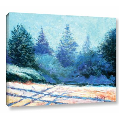 Tree Side Painting Print on Wrapped Canvas