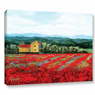 Paradise Painting Print on Wrapped Canvas