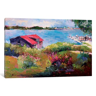Reservoir Painting Print on Wrapped Canvas