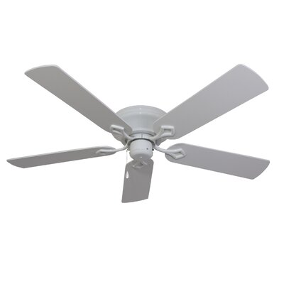 52 Colchester 5-Blade Indoor Ceiling Fan Finish: White