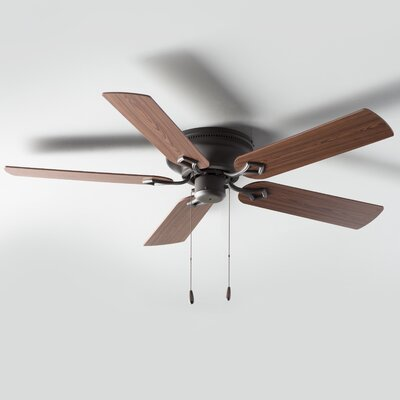 52 Colchester 5-Blade Indoor Ceiling Fan Finish: Bronze