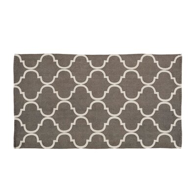 Messer Gray Area Rug Rug Size: 3 x 5