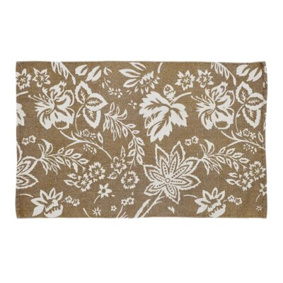 Messina Khaki Area Rug Rug Size: 2'3