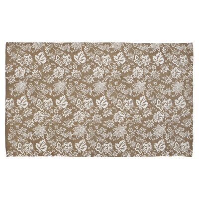 Messina Khaki Area Rug Rug Size: 8 x 11