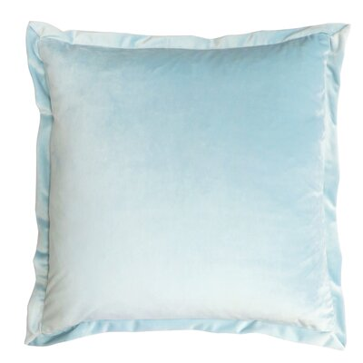 Campton Throw Pillow Color: Spa Blue