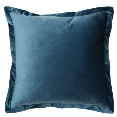 Campton Throw Pillow Color: Slate Blue