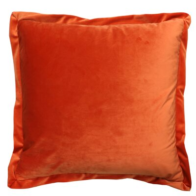 Campton Throw Pillow Color: Rust
