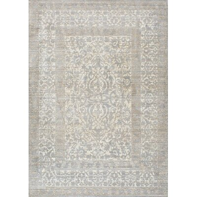 Dorothea Gray Indoor Area Rug Rug Size: 710 x 1010