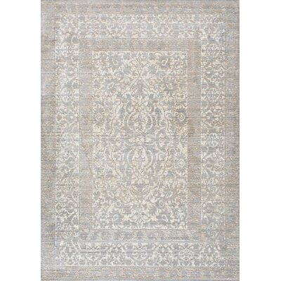 Dorothea Gray Indoor Area Rug Rug Size: 9 x 12
