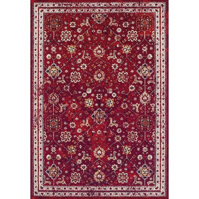 Gilson Claret Area Rug Rug Size: Rectangle 92 x 125