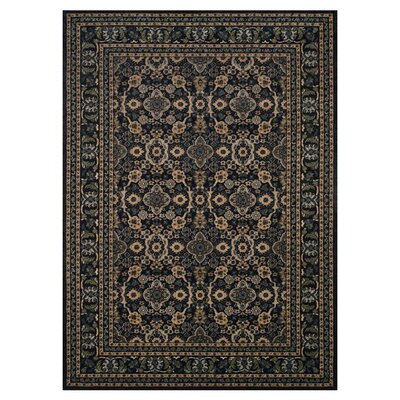 Carbondale Black Area Rug Rug Size: Rectangle 22 x 4
