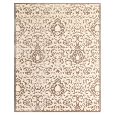 Chafin Beige Area Rug Rug Size: 98 x 127
