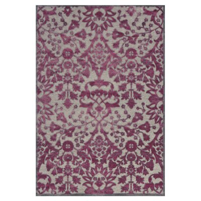Cohee Purple Area Rug Rug Size: Rectangle 22 x 4