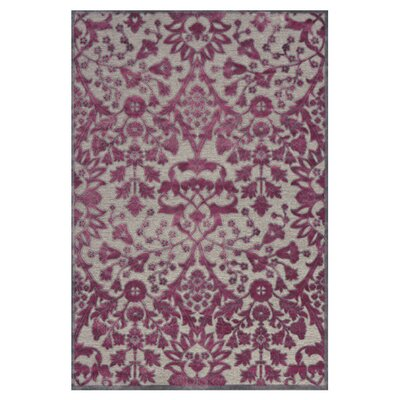 Cohee Purple Area Rug Rug Size: 76 x 106