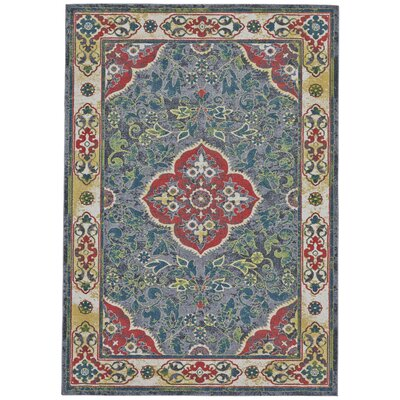 Colfax Purple Area Rug Rug Size: 5 x 8