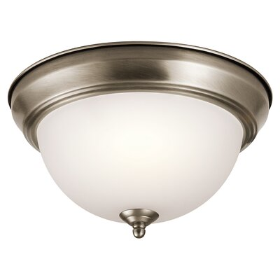 Cornelison 2-Light Flush Mount