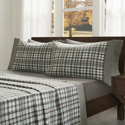 Abingdon Sheet Set Size: Twin, Color: Gray