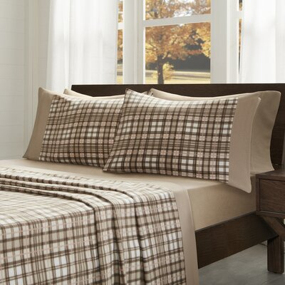 Abingdon Sheet Set Size: Queen, Color: Tan