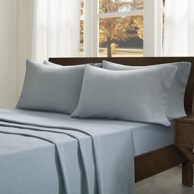 Abingdon Sheet Set Size: King, Color: Blue
