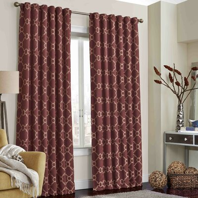Ginther Blackout Thermal Single Curtain Panel