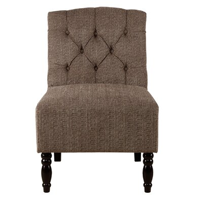 Lenox Tufted Armless Club Chair