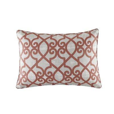 Barrows Outdoor Lumbar Pillow Color: Coral