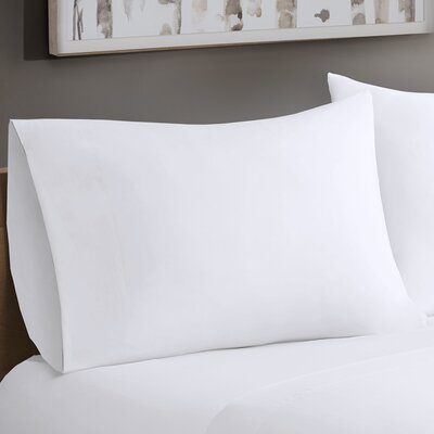 Avon Forever Percale Pillowcases Size: King, Color: White