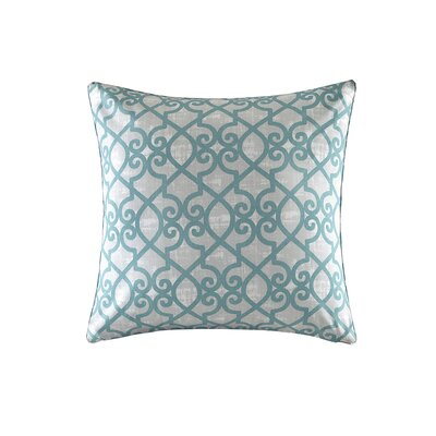 Barrows Outdoor Throw Pillow Size: 26 H x 26 W x 5 D, Color: Aqua
