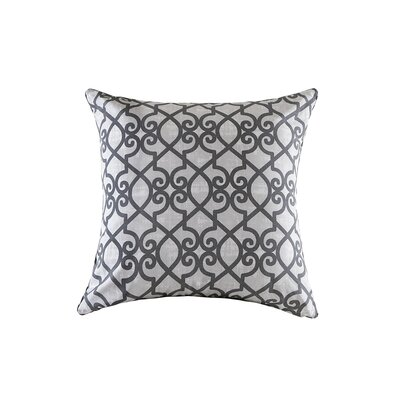 Barrows Outdoor Throw Pillow Size: 26 H x 26 W x 5 D, Color: Gray