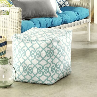 Barrows Ottoman Fabric: Aqua