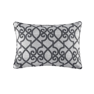 Barrows Outdoor Lumbar Pillow Color: Gray