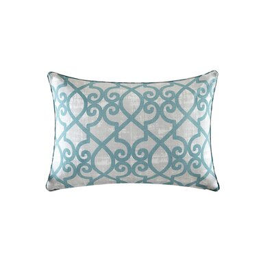 Barrows Outdoor Lumbar Pillow Color: Aqua