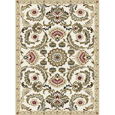 Dolan Gold/Beige Area Rug Rug Size: Rectangle 67 x 96