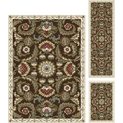 Dolan 3 Pieces Area Rug Set
