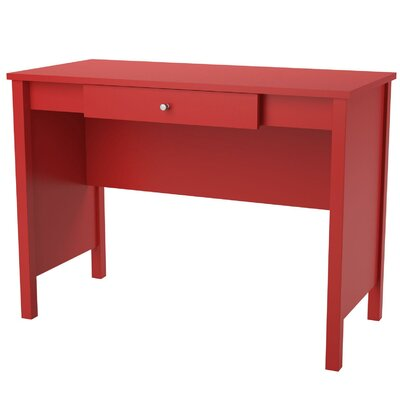 Norine Writing Desk Finish: Ruby Red